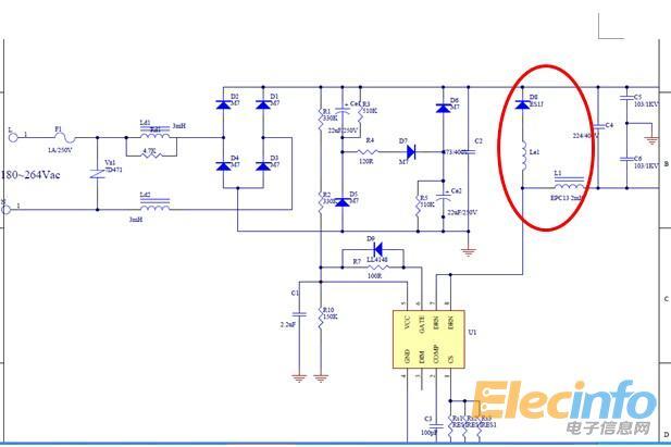 直流降压升流电路原理图片