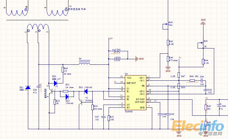 双端正激驱动变压器的一些疑问