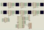 自己做的51单片机和573光立方的仿真流程,大家提提意见