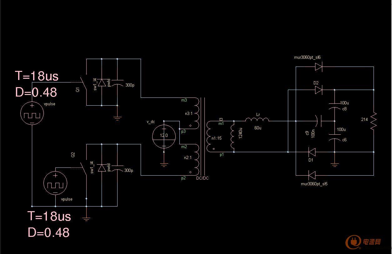 我做了电路仿真了一下,可以做到zvs,近似zcs.参数准确.