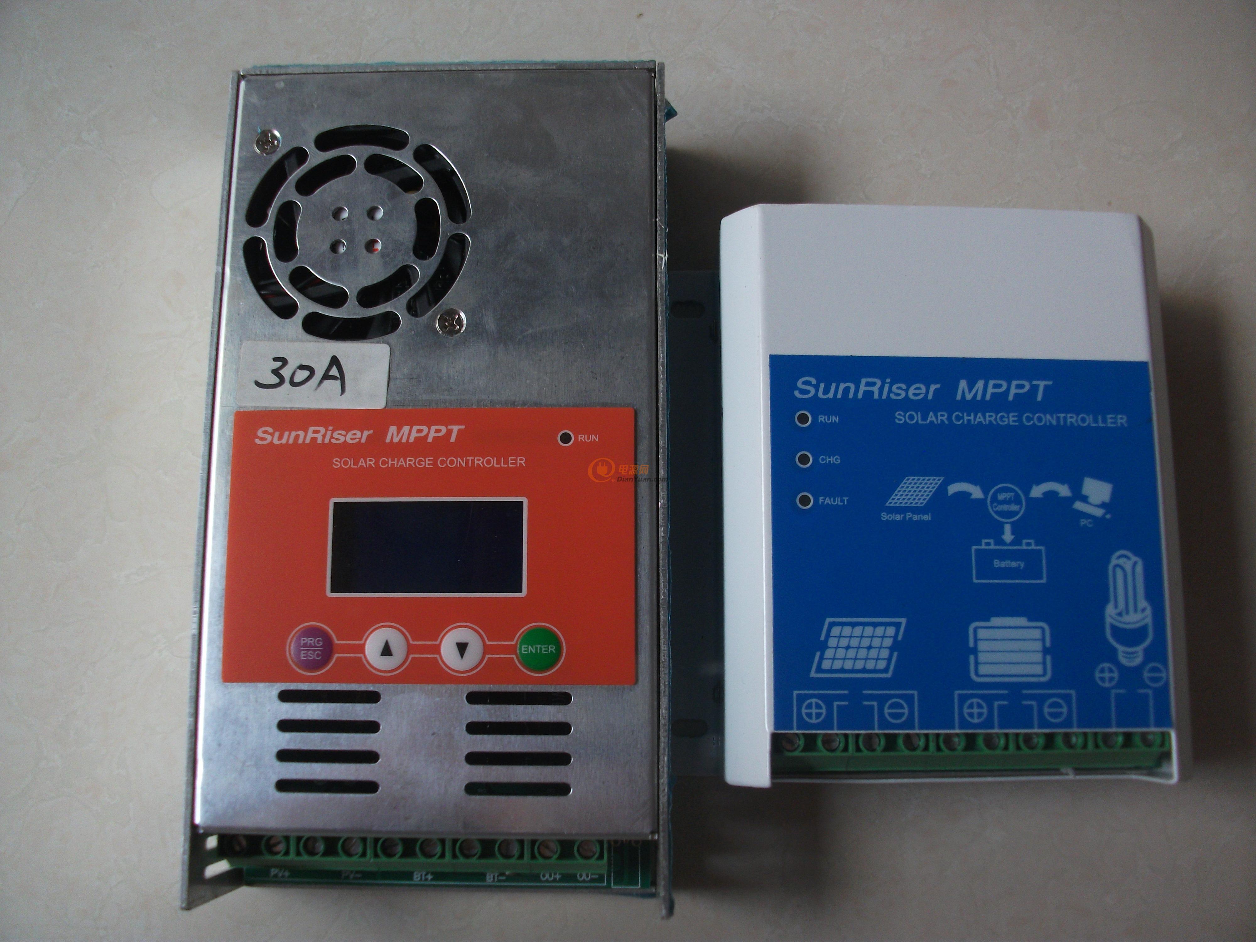 出售全新mppt太阳能控制器-电源网