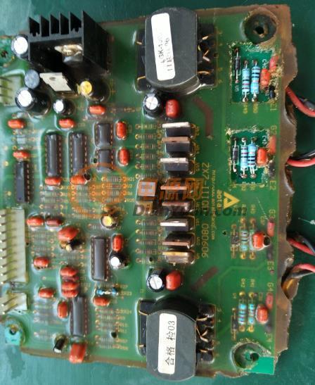 奥太nbc控制板接线图