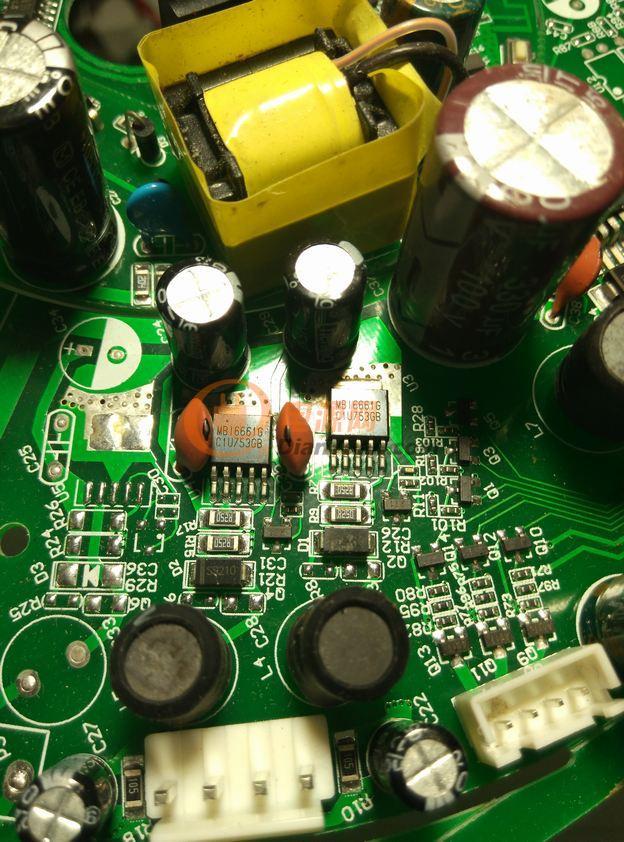 放几个智能灯具用的电路板,图处中的一块拼板,是两套灯具的电路板