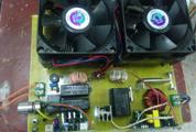 在学校的日子 瞎折腾个3525磁环IGBT半桥电磁炉玩玩