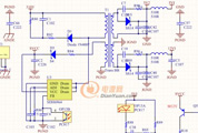 反激式开关电源 输出振荡了 求教