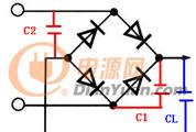 分析整流二极管并联电容后,电压升高情况