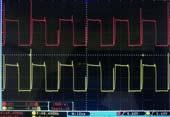 逆变器前级波形问题