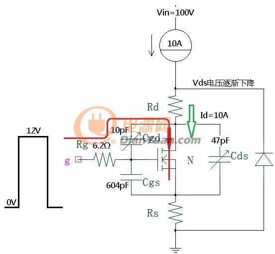 导通过程阶段3等效电路