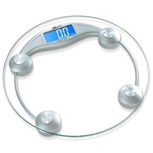 香山(CAMRY) EB9005L 圆形电子秤 体重秤 透明