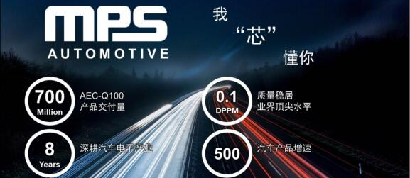 "MPS""Power Subsystems"",助力汽车工业加速实现ACES"