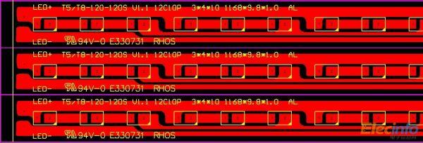 你pcb灯板设计图层怎么是底层的啊