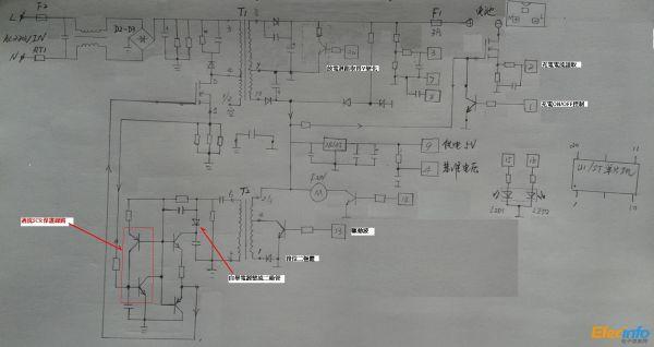 48v电动车充电器 诡异mosfet驱动电路