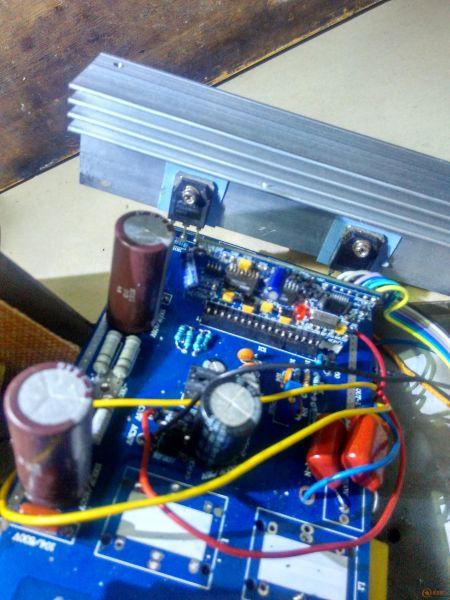 我的36v正弦波逆变器变压器都是用的ee65变压器绕的