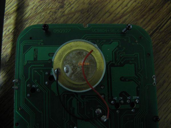 vc9804a+万用表档位v片拆乱了