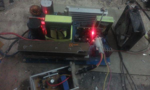 8V1800W正弦波逆变器制作