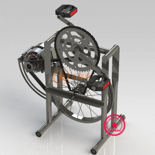 自制小型电鱼机-电源网