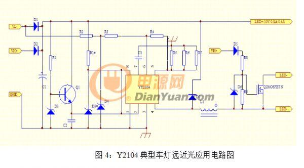 pwm芯片启动和亮度接线图