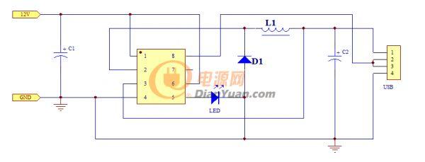 广泛适用于汽车充电器,直流降压变换器等产品.