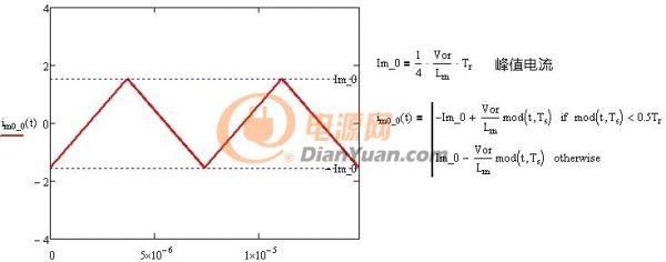 Lm电流方程及波形