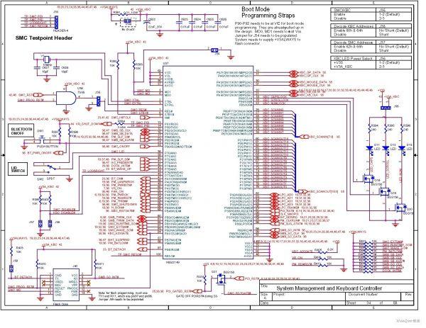 电脑主板电路图图片