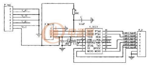 由原理图3可以看出,电源电路给tcl5941芯片提供电源的同时给led灯组