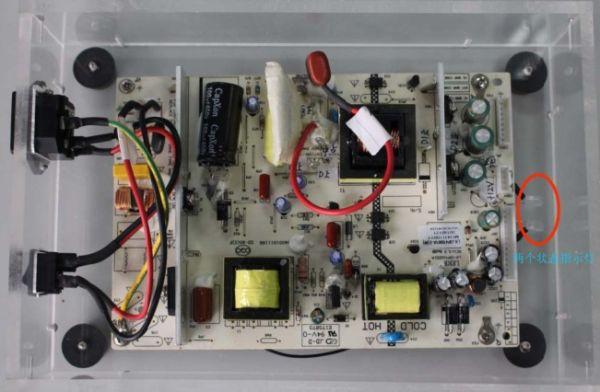 在保证示波器,电源演示板及探头等所需物品均没问题