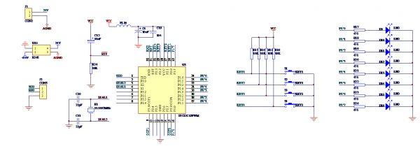 dc-dc直流电机原理图及单片机程序-电源网