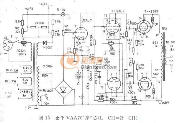 hi-fi电子管放大器维修常识及常见电路介绍(一)