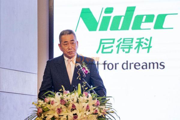 发力中国市场,世界第一马达制造商日本电产举办中国首场新闻发布会