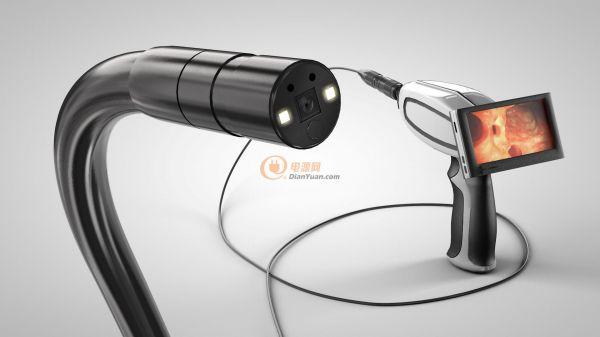 NanEyeM的预连接电缆确保了与内窥镜设备顺畅无缝的整合