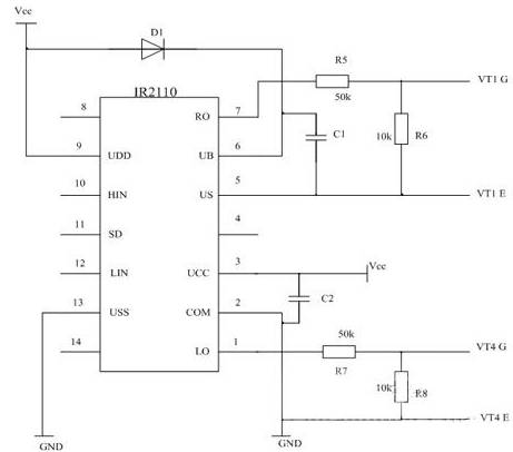 基于at89c51单片机的变频调速控制系统设计-电源网