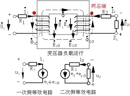 变压器基本工作原理,结构与额定数据-电源网