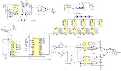 基于SPWM的交流稳压电源设计方案图片