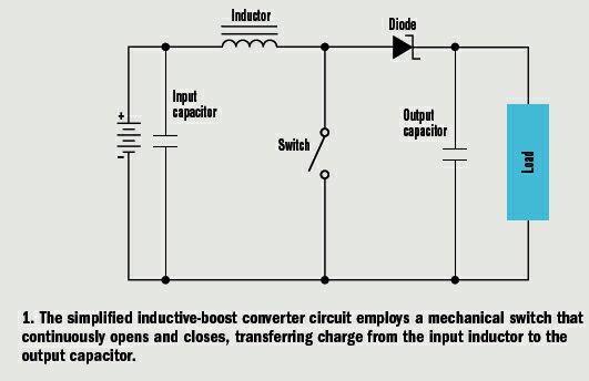 怎样选择电感型升压转换器ic电路的输入电容?