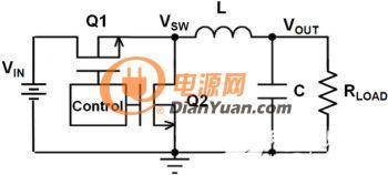 同步降压转换器电路图-选对电容电感 提升DC DC降压转换器性能图片