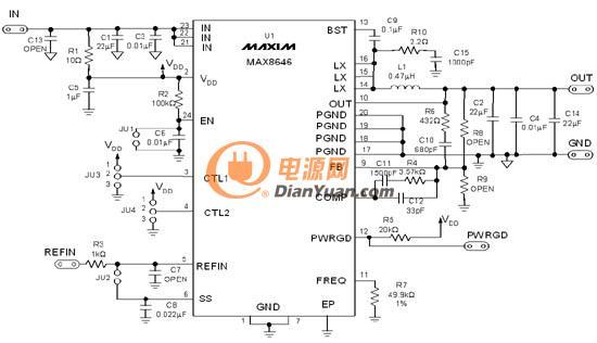 直流转换电路中电感器选取 磁芯与尺寸篇图片