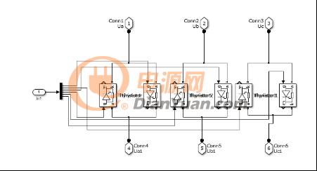 一种三相可控硅交流调压电路设计图片