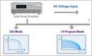 太阳电池阵列模拟I -V曲线电源