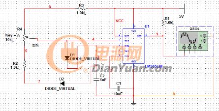 图3 multisim电路图
