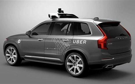 沃尔沃与Uber联合研发自动驾驶汽车技术
