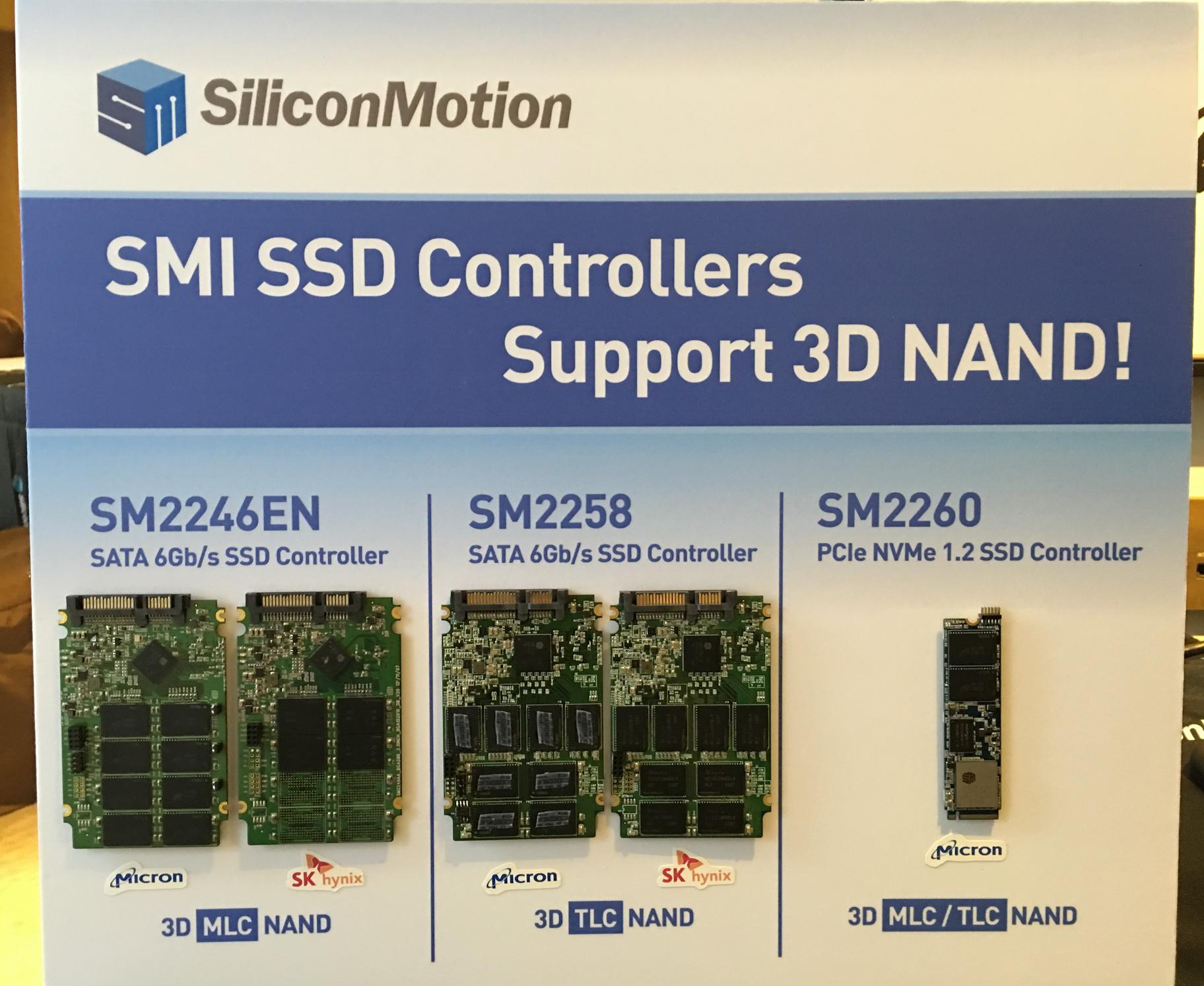 慧荣科技推出SATA SSD控制器