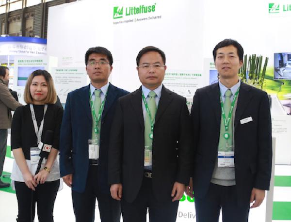 专注电路保护——Littelfuse慕尼黑上海电子展专访