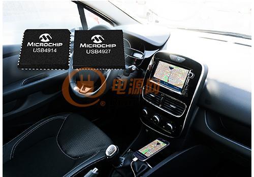 USB智能集线器IC支持智能手机连接汽车信息娱乐系统
