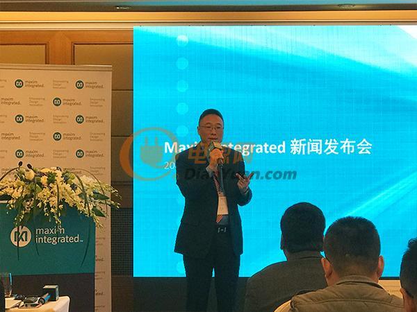 Maxim Integrated大中华及南亚太区销售副总裁李艇