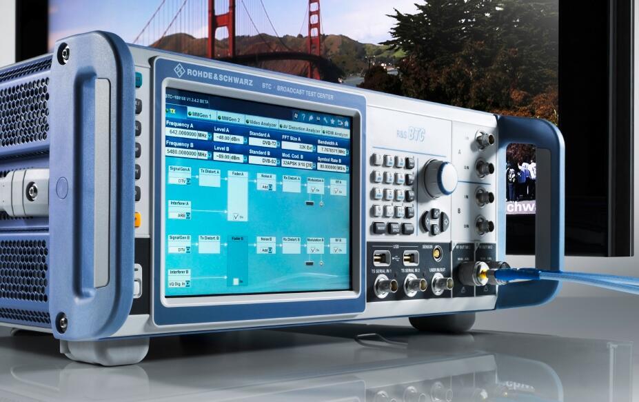 使用R&S BTC广播电视测试系统进行ATSC 3.0应用测试