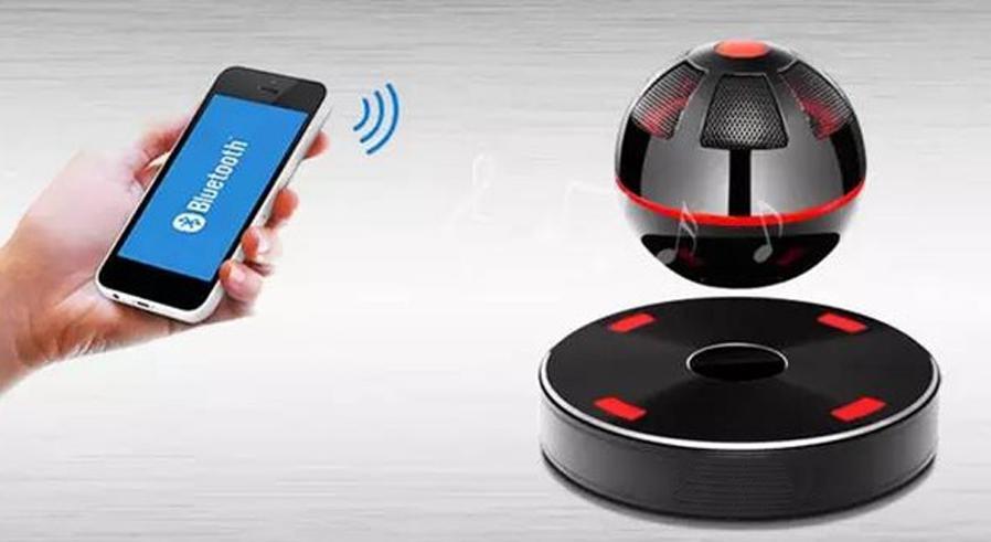 生活中的黑科技:磁悬浮音响无线充电的测试