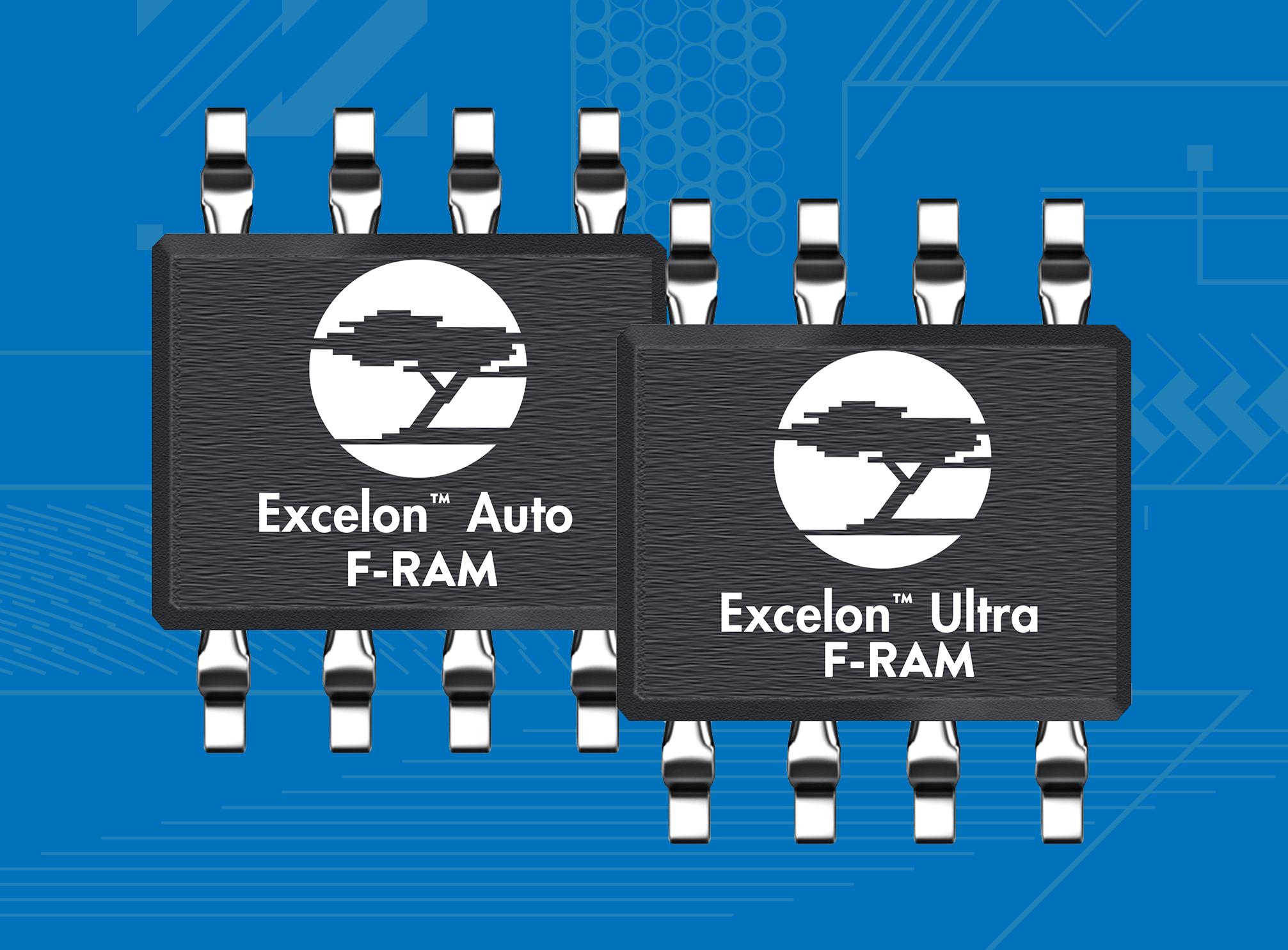 赛普拉斯推出全新Excelon™F-RAM™非易失性存储器系列