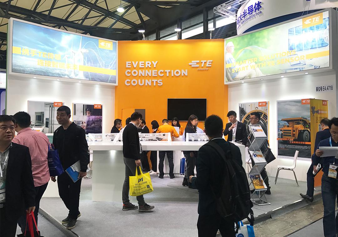 泰科电子携新品亮相2018慕尼黑上海电子展