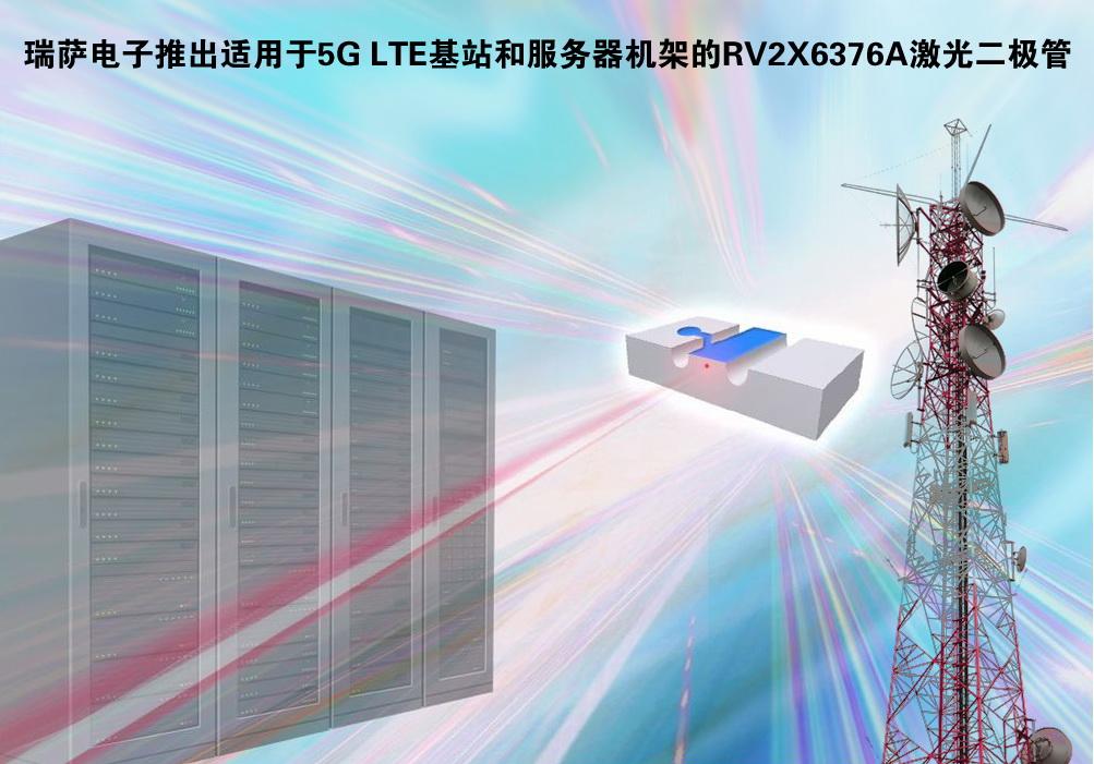 瑞萨推出首款25 Gbps直调激光二极管RV2X6376A系列