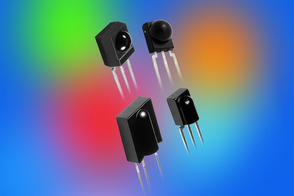 Vishay新一代微型红外接收器具有灵敏度 噪声抑制能力